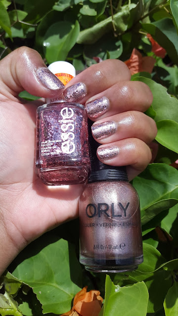 Essie Luxeffects 'A Cut Above' + Orly 'Rage' - www.modenmakeup.com