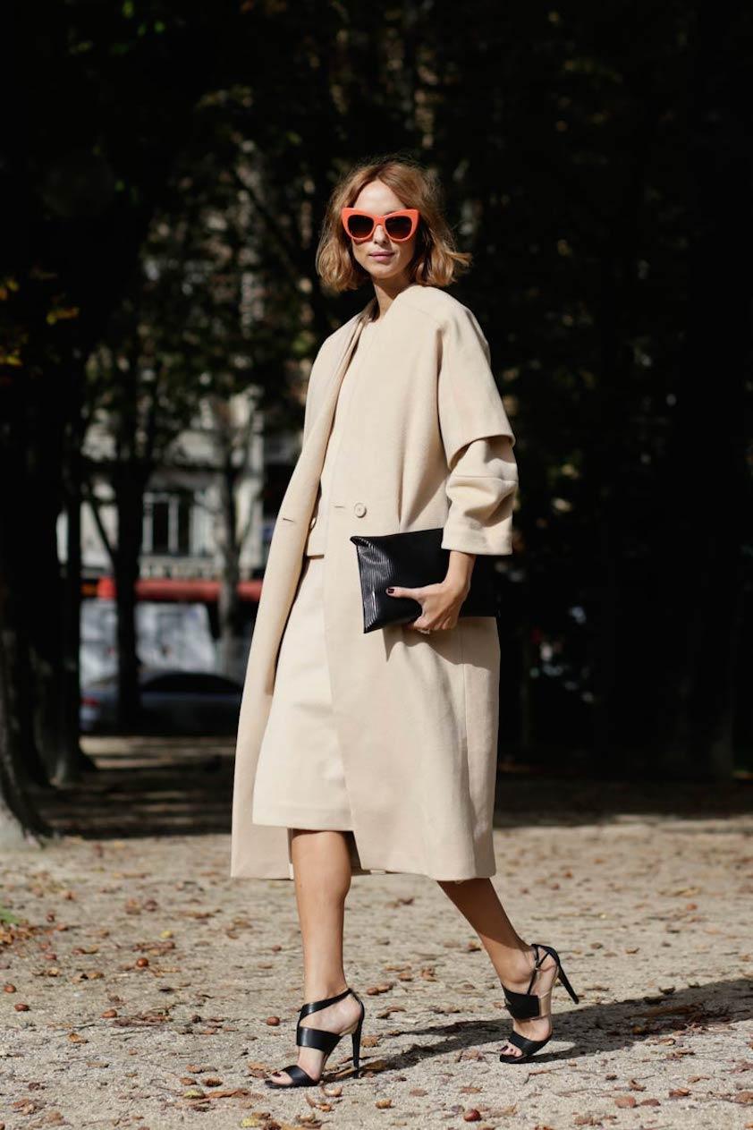 Paris Fashion Week Street Style | .sabo skirt. | Bloglovin\u0027