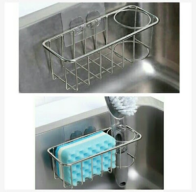 Kitchen Sink Caddy - Sponge and Brush Holder by Kesol