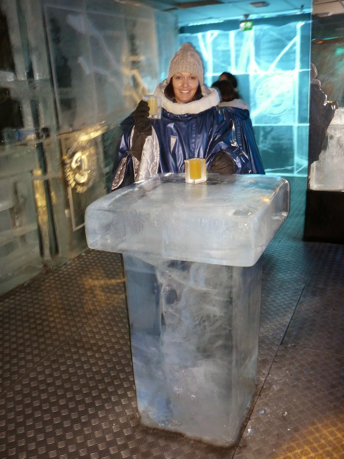 Photo de l'ice bar de stockholm