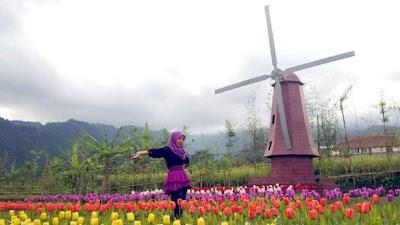 Rute Lokasi Small Garden Dan Small World Baturaden Purwokerto