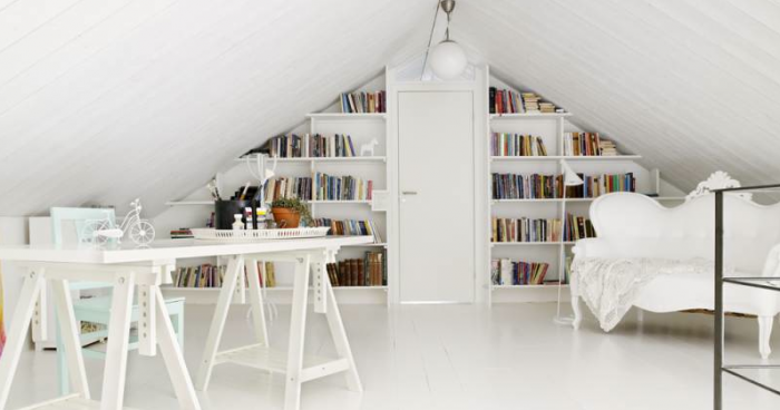 Rough Luxe Design Artful Home Libraries Via Remodelista