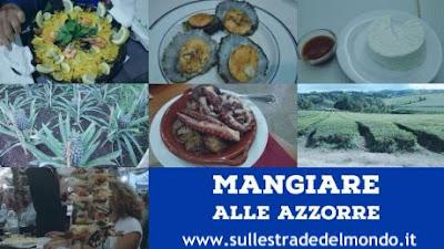 mangiare alle Azzorre collage