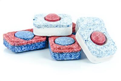 Pastillas de detergente para el lavavajillas