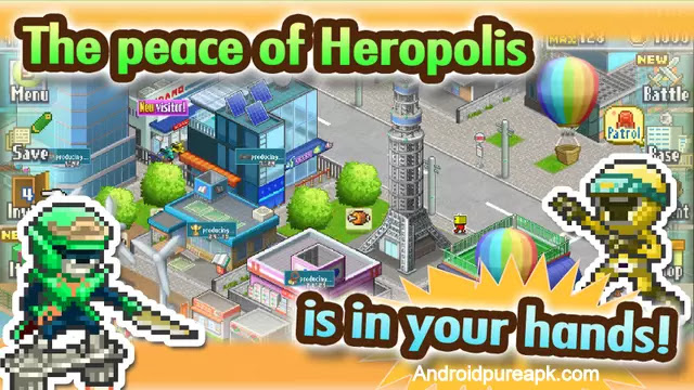 Legends of Heropolis Mod Apk