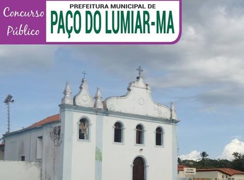 Concurso Prefeitura de Paço do Lumiar-MA {Apostilas, Edital e Inscrição 2018}