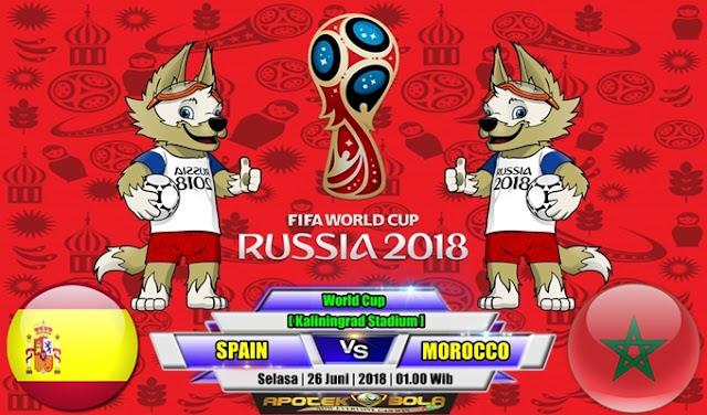 Prediksi Spain vs Morocco 26 Juni 2018