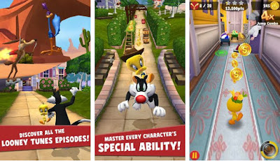 Crack Looney Tunes Dash All Fitur Modded for Android Update