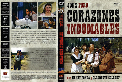 Carátula dvd: Corazones indomables (1939) Drums Along the Mohawk