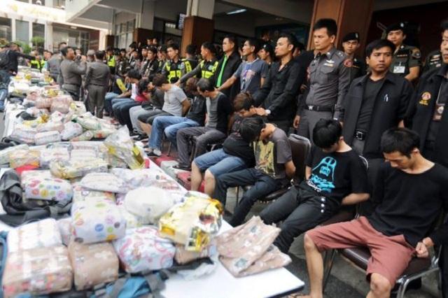 """21 """"Keldai Dadah"""" Rakyat Malaysia Berdepan Hukuman Mati Di Thailand"""