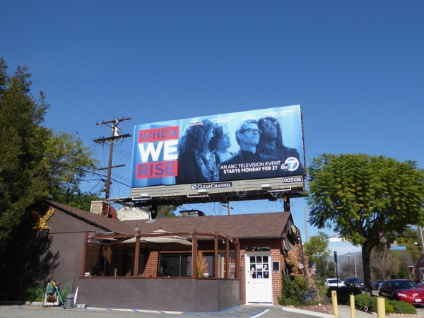 When We Rise TV billboard