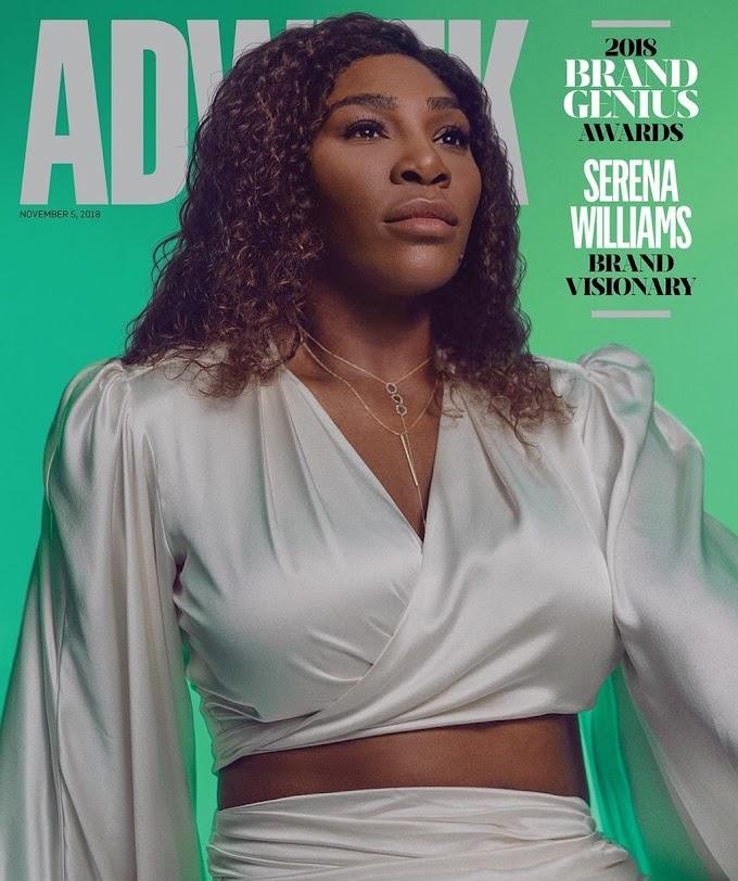 Serena Williams is Adweek's 2018 Brand Visionary