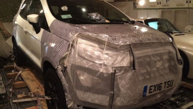 Ford EcoSport Recent Photos Leaked