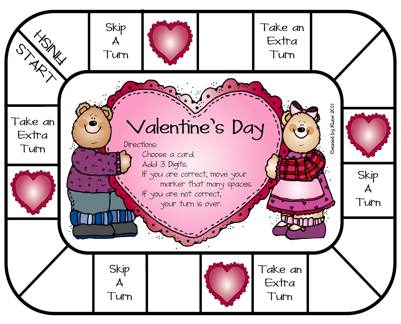 Printable Valentine Sequencing Worksheets