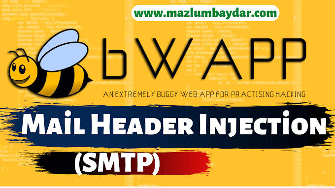 bWAPP | Mail Header Injection(SMTP) Açığı