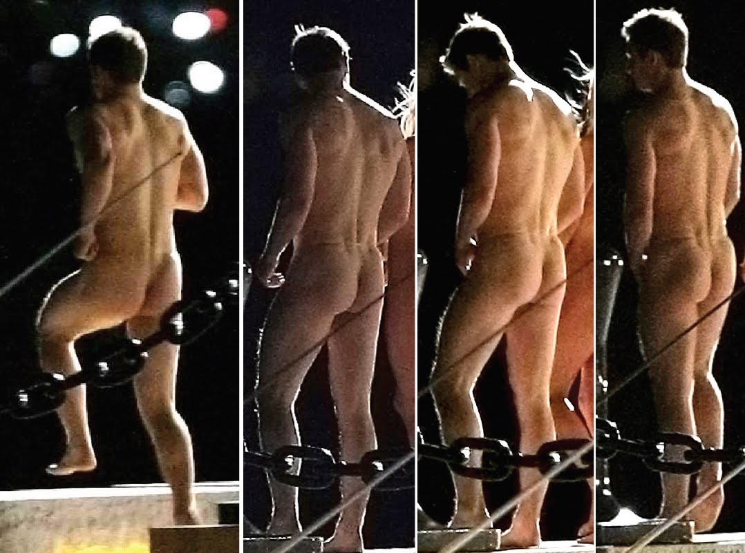 Chris evans butt naked