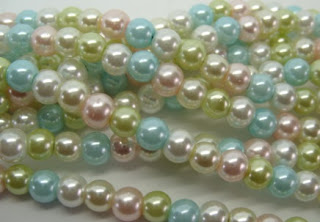 faux pearls 6mm