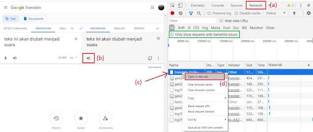 cara download suara google