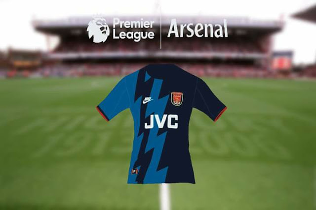 new concept dd81b f0ff4 Arsenal 1995-96 Kits - PES 2017 - PATCH PES | New Patch Pro ...
