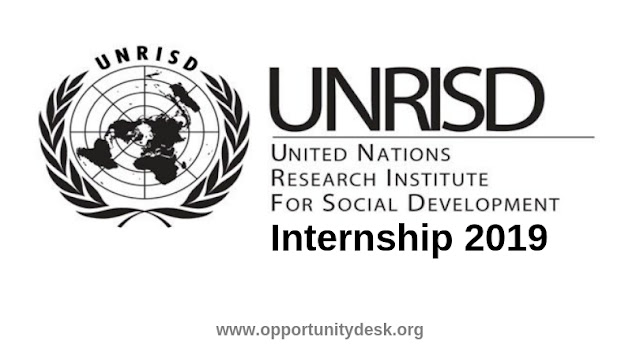 United Nation Research Institute for Social Development(UNRISD) for Internship Opportunity 2019