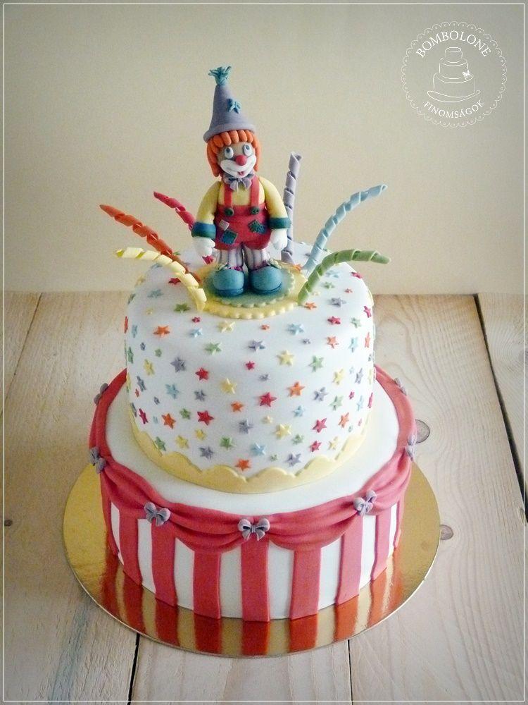 bohóc torta képek Bombolone: Bohóc torta bohóc torta képek