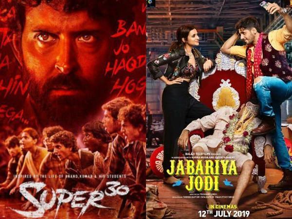 After battle with  Mental Hai Kya, Hrithik Roshan's Super 30 to Clash with Jabariya Jodi on July 12
