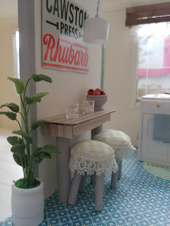 dollhouse bar table