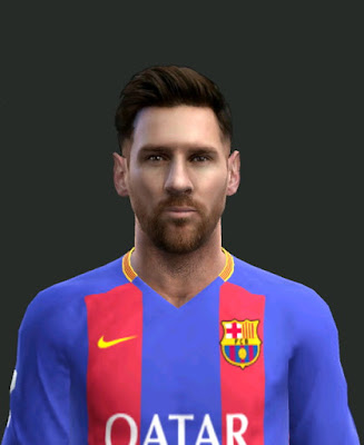 PES 2013 Lionel Messi Face by Facemaker EmreT