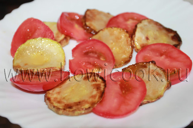 рецепт салата с цуккини и сыром фета с пошаговыми фото