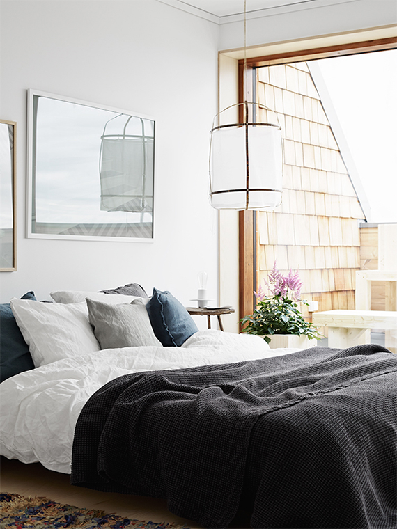 Serene bedroom. Image by Kristofer Johnsson