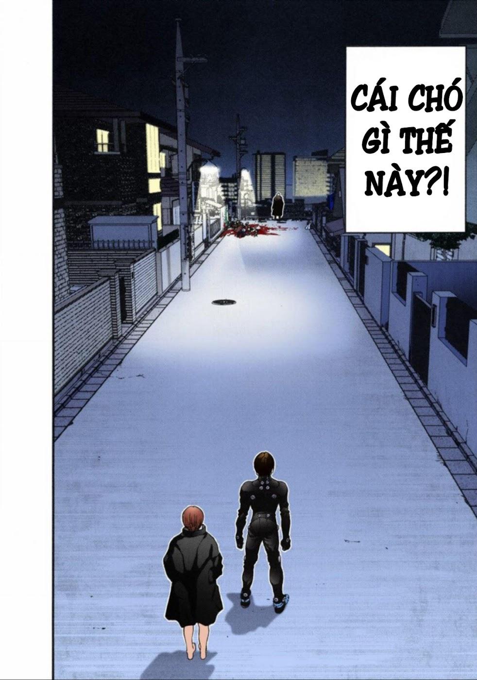 Gantz Chap 13: Đôi mắt trang 4
