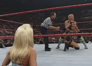 WWE / WWF - Unforgiven 1999 - Jeff Jarrett battles Chyna