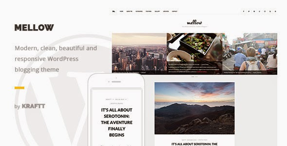 Responsive WordPress Blog Theme 2015