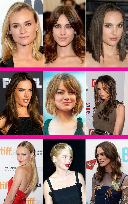 famosas con poco pelo