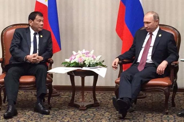 President Duterte to Putin: 'We have been longing to be part of Europe'