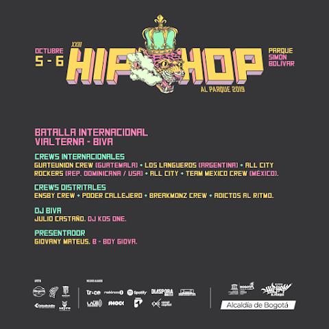 Crews de Break dance que se presentaran en  «Hip Hop Al Parque 2019»