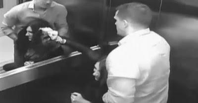 شاهد.. لحظة قتل سيدة على يد زوجها داخل مصعد بعد مطاردة مثيرة