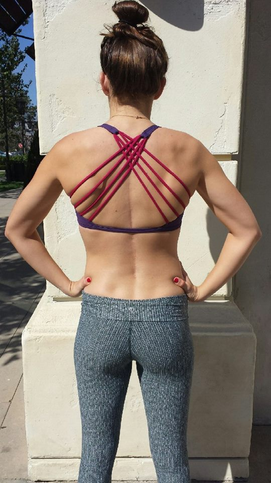 lululemon free-to-be-wild-bra-going-grape coco-pique-wunder-under-pant