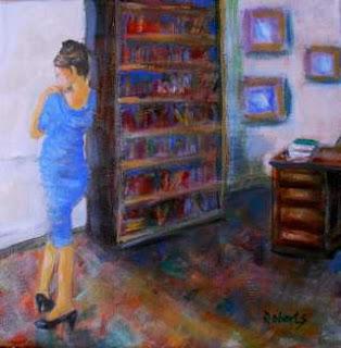 Британский художник. Rosalind Roberts