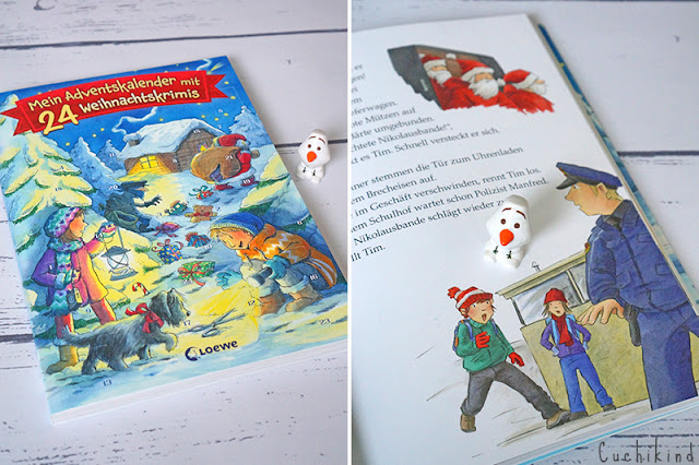 Adventskalenderbuch Kinder