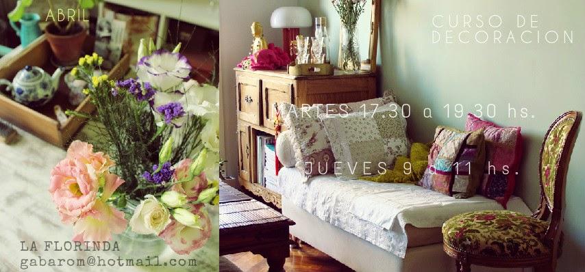 Tienda la florinda nuevo cursos de decoracion y de - Decoracion de jardineria ...