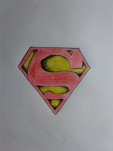 How to Draw Superman Logo S Symbol