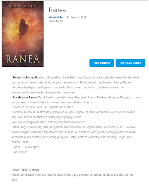 Ranea is now on Google Books
