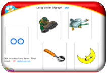 http://www.kizphonics.com/phonics/oo-long-vowel-digraph-audio-card/