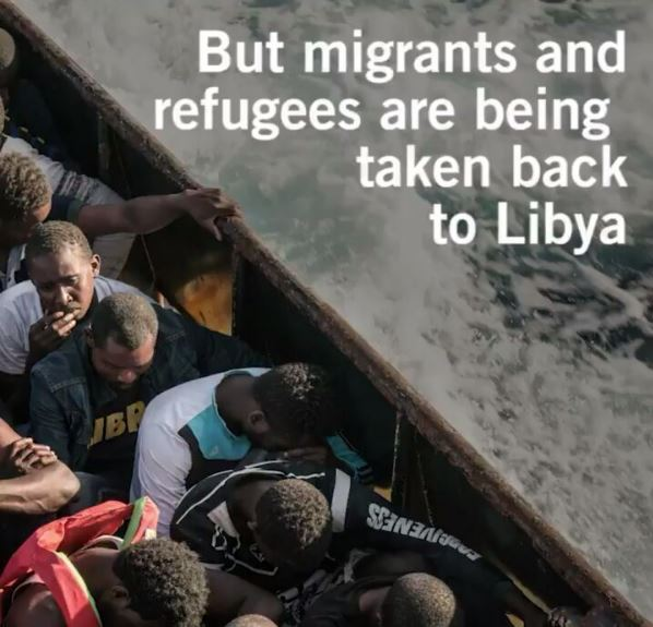 Tortured, Raped & Sold… Watch this Harrowing Video about Libya by Amnesty International