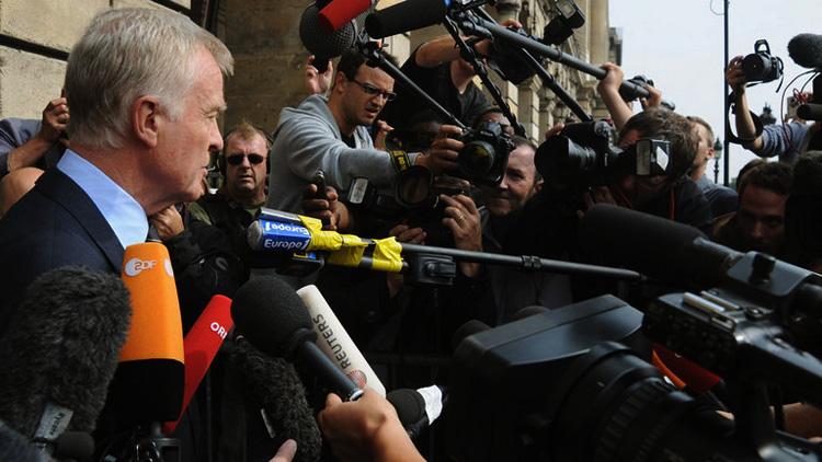 Max Mosley (FIA) declara en París tras el auto por el crashgate