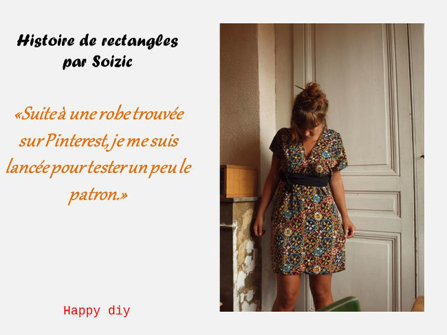 Extrêmement Couture Facile pour Débutants - Robe Cousu Main Bettinael.Passion  DQ05