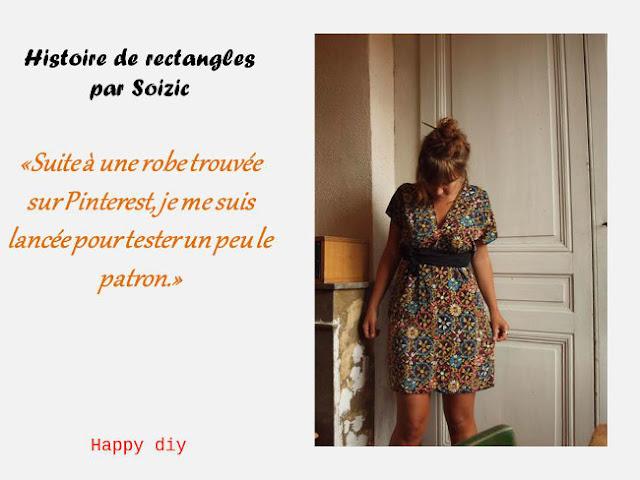 Couture facile pour d butants robe cousu main bettinael for Apprendre a couture gratuit