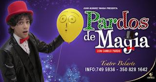 Pardos de Magia con Camilo Pardo - Poster 2