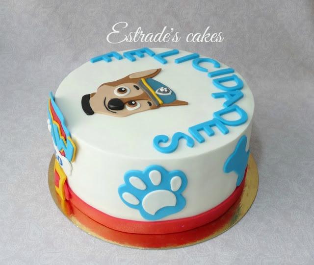 tarta de la Patrulla Canina 5